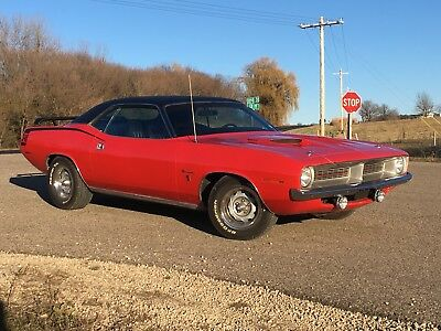 1970 Plymouth Barracuda Gran Coupe cuda 1970 Plymouth Barracuda Gran Coupe Rust Free Orig Calif Car! PS, AC, Disc Brakes