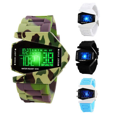 Electronic Digital Kids/Child/Boy's/Girl Waterproof LED Display Watch Backlight