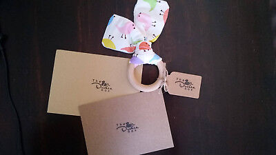 The Duckie Box - Baby Gift Set - Teether - Personalised Card - Baby Shower Gift1
