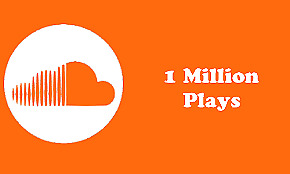 1,000,000 Soundcloud Plays W/ 2000+ Track Likes & 1000+ Repost !