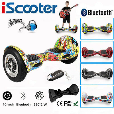 10/8/6.5 Zoll Bluetooth Hoverboard Elektro Self Balance Scooter Roller Overboard