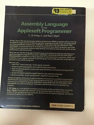 Vintage 6502 Computer Assembly Language book for the Applesoft Programmer