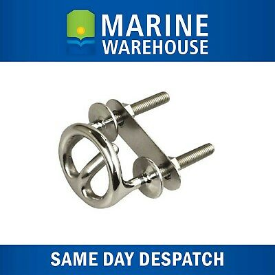 """Ski Tow Ring 3/8"""" Stainless Steel - Tow Rope Hook  506317"""