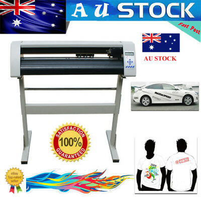 "NEW 24"" Cutting Plotter Vinyl Cutter Sign Making Machine RS720C AU Fast Shipment"