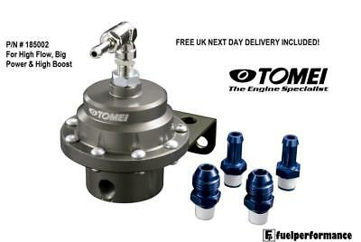 Genuine Tomei Fuel Pressure Regulator & Fittings - Type L for High Boost / Power