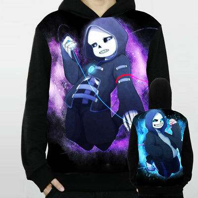 Game Undertale Sans Unisex Hoodie Jacket Pullover Coat Sweatshirt S-3XL#JA119