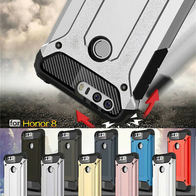 For Huawei Honor 8 9 Lite Heavy Duty Shockproof Hybrid Armor Case Rugged Cover