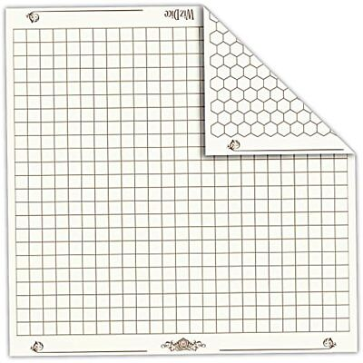 Role Playing Game Battle Grid Mat Dungeons And Dragons Map Dnd Reversible Rpg