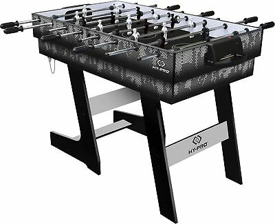 Hy Pro 4 In 1 Folding Games Table Football Tennis Pool Hockey Kids Gaming  Toy