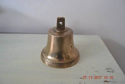 ANTIQUE EARLY 19th CENTURY BRONZE CARRILION/HAND BELL No 7