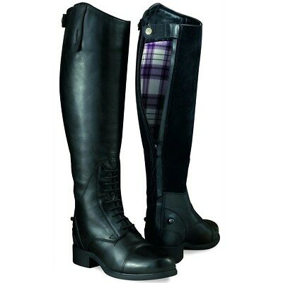 Ariat Bromont Tall H20 Waxed Black Insulated