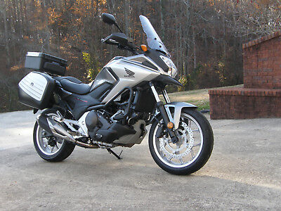 2016 Honda NC700X  2016 Honda NC700X DCT, silver, 2,488 miles, many extras, great condition