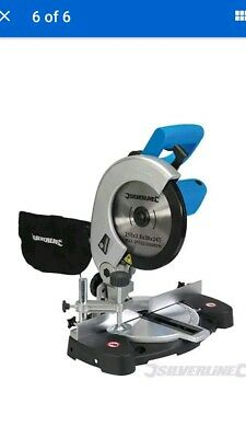 BRAND NEW! BOXED! 1400W Compound Mitre Saw 210mm Chop Saws ELECTRIC
