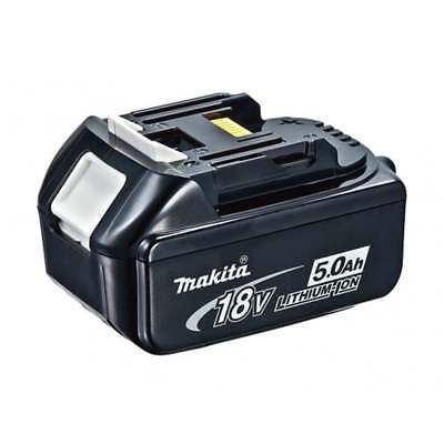 MAKITA GENUINE BL1850 B 18V 5.0AH LITHIUM ION BATTERY X 2 WITH LED INDICATOR NEW