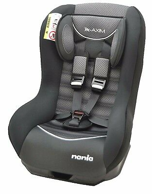 Nania Maxim Group 0+ - 1 Recliner Baby Car Seat Graphic Black