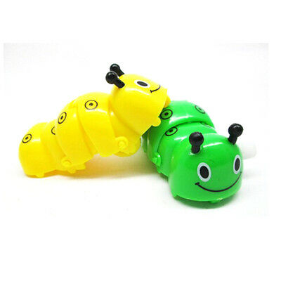 Cute Children Fun  Wind Up Toys For Caterpilla Clockwork Animal The Worm  TSCA