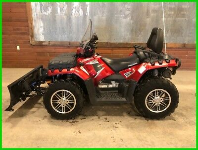2013 Polaris Sportsman Touring 850 H.O. EPS Sunset Red LE Used