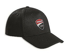 Genuine Ducati Corse Total Black Cap 987695229