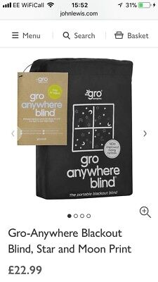 Gro Anywhere Blind Travel Blackout Blind Babies