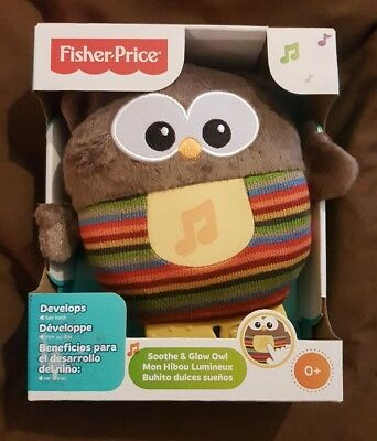 fisher price sooth and glow owl