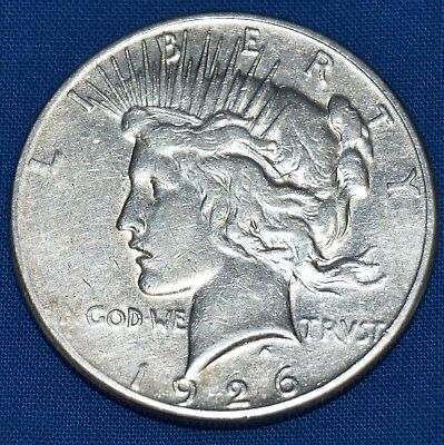 1926 Liberty Peace American Silver One Dollar s Coin