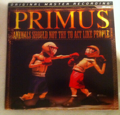 Primus - Animals Should Not Try To Act Like People - MFSL Vinyl LP- RAR !!