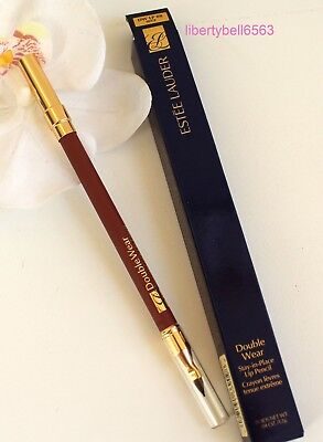 Estee Lauder DOUBLE WEAR Stay-In-Place Lip Pencil (Select Shade) -FULL SIZE -NIB