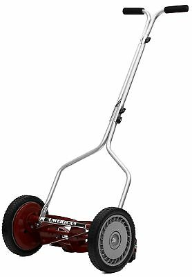 American Lawn Mower 1304-14 Economy Push Reel Mower with T-Style Handle and H...