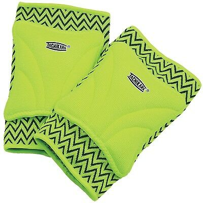 Tachikara ZIGZAG Beginner Volleyball Knee Pad Large/X-Large Lime Lime Green