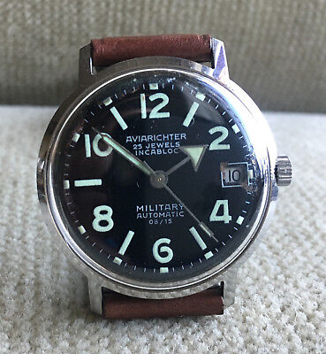 AVIARICHTER - Military Automatic - Edelstahl 36 mm  ca.1968