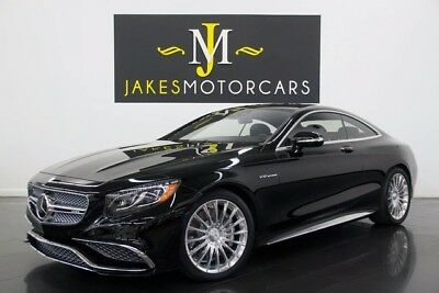 2016 Mercedes-Benz S-Class S65 AMG DESIGNO Coupe ($236K MSRP)...$70K OFF NEW! 2016 MERCEDES S65 AMG V12 BI-TURBO COUPE, $236K MSRP! 5900 MILES! BLACK ON BLACK