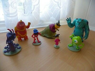 Disney Monster Inc Figures - From the Disney Store - VGC