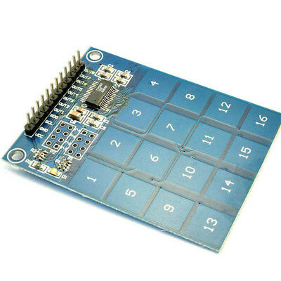 16 Number Channel TTP229 Digital Capacitive Switch Touch Sensor Module