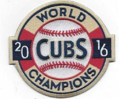 Chicago Cubs World Series 2016 Champions Vintage Jersey Style Patch 1907 - 1908