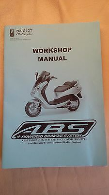 Peugeot Scooter ABS/PBS Workshop Manual