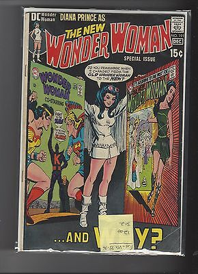 Wonder Woman 191 Special Change from Old to New WW and Why F-VF
