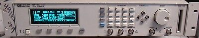 HP AGILENT KEYSIGHT 8110A 150 MHz 2 CHANNEL PULSE/PATTERN GENERATOR! CALIBRATED!