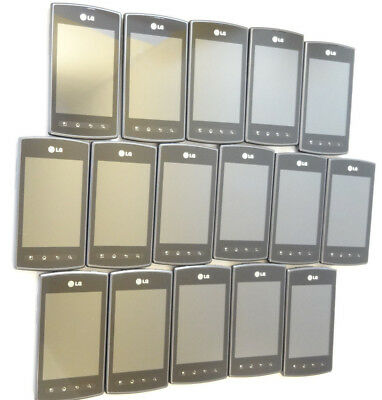 Lot of 16 LG Opitmus Plus AS695 Bluegrass Cellular Smartphones Power On AS-IS