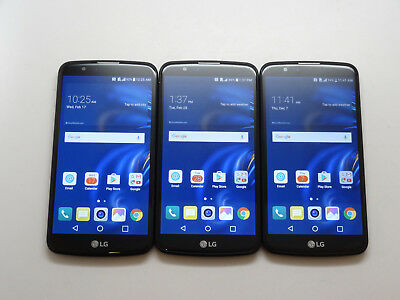 Lot of 3 LG K10 K425 16GB AT&T Smartphones AS-IS GSM