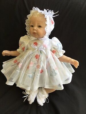 Reborn Doll Dress Set. Lacey To Fit 19-21""