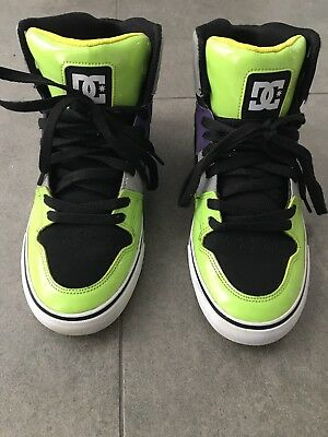 Dc Mens Boys High Tops Boots Runners Size Us 8