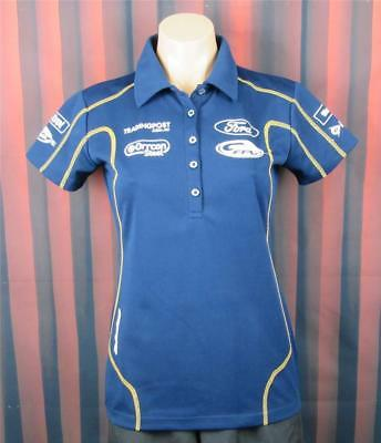 Ford Team, Size 8 Womans Polo Shirt, Official Merchandise.