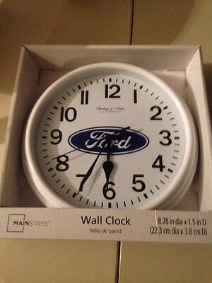 Ford Battery Powered Clock