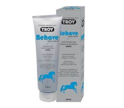 Troy Behave Equine Calming Paste 250g For Nervous Horses