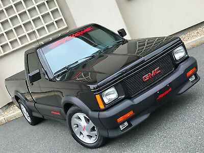 1991 GMC Sonoma Syclone 1991 GMC SYCLONE AWD 4.3 TURBO ONLY 4,800 MILES! BOOKS, BEAUTIFUL, ORIGINAL