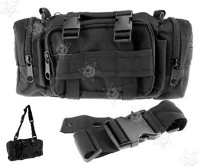 Army Military Combat Cargo Belt Bum Waist Shoulder Cargo Waist Bag Travel New