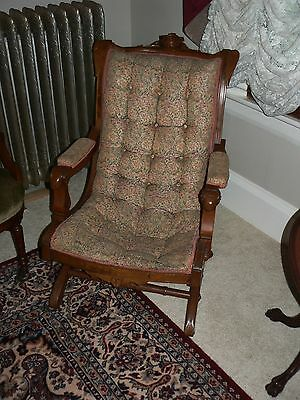 SALE!!! Victorian Sleepy Hollow Rocker Late 1800's priced to be restored