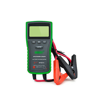 12V Car Battery System Tester Capacity Max  Electronic load Battery Charge Test