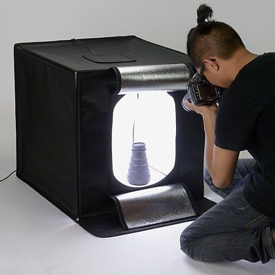 """Fotodiox Pro LED 24x24"""" Light Studio in a Box-- All Accessories, Barely Used"""