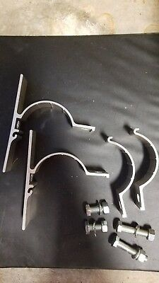 Pipe Post Mounting Brackets (Single Sign) 2 3/8 aluminum